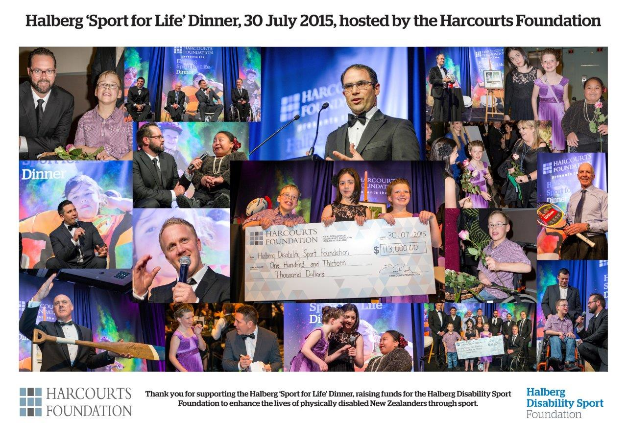 sport for life 2015 halberg and Harcourts - foundation event